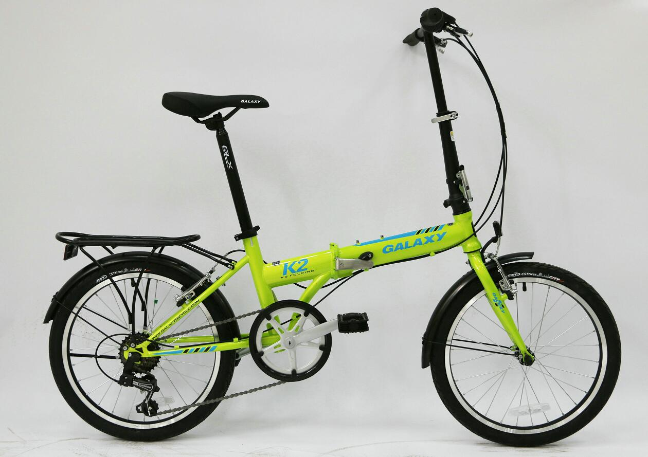 xe đạp gấp GALAXY K2 2018