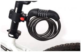 Khóa dây 5 mã số xe đạp