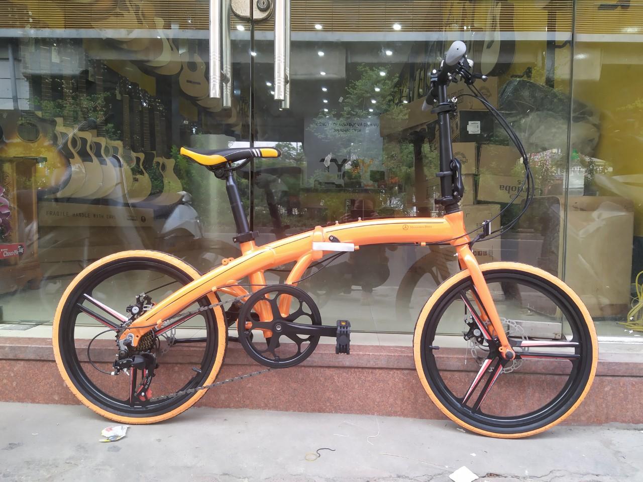 Xe đạp gấp - Mecedes Benz