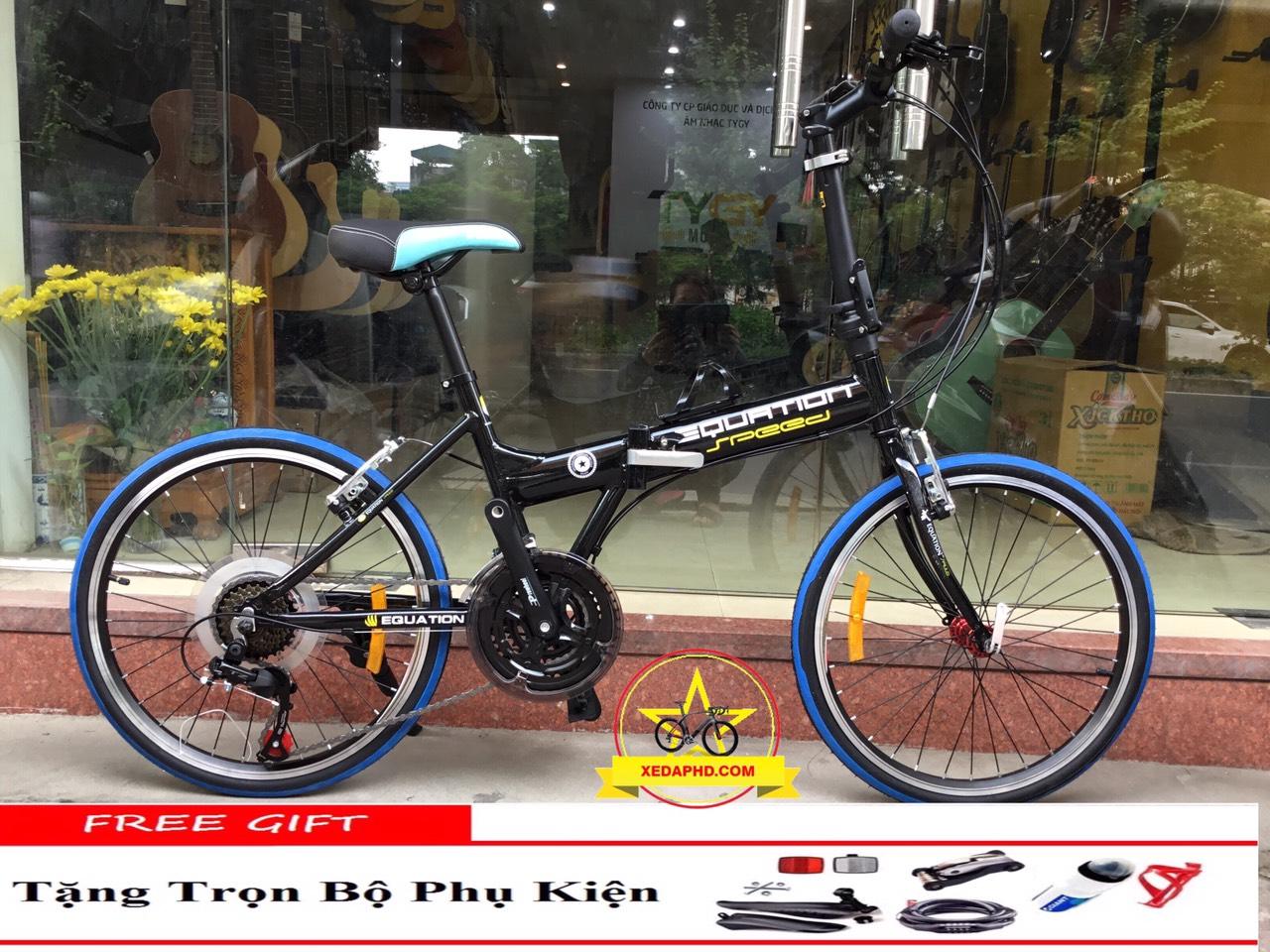 xe đạp gấp EQUATION khung nhôm