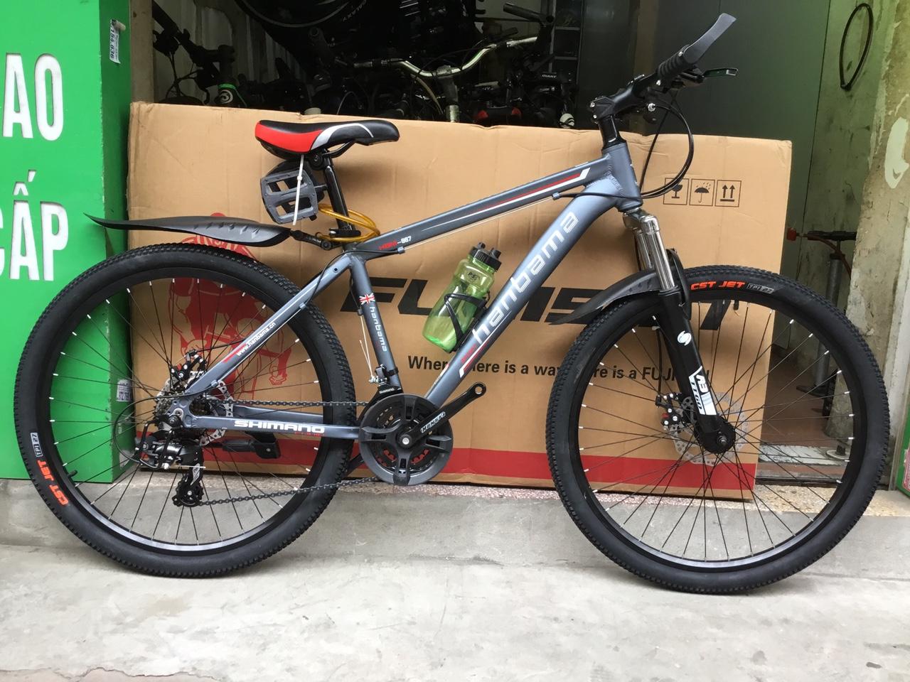 xe đạp thể thao hanbama