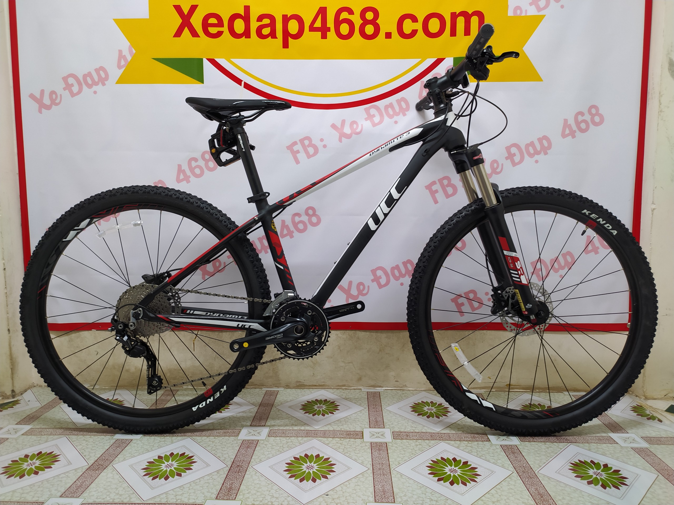 Xe thể thao UCC Dynamite 3_full Deore